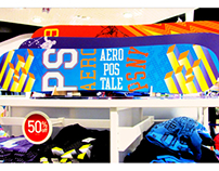 PS from Aeropostale: Snowboard display