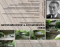 Presentation Board | Junzo Yoshimura