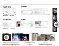Presentation Board | Bridge & Personal Space design