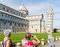 """""""Say cheese"""" - Pisa - Reportage"""