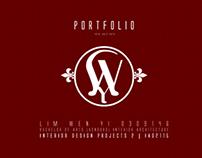 Portfolio | Semester 3 Interior Design 2013