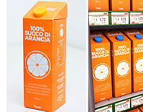 Re-Design of Santal Orange Juice