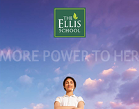 The Ellis School // Re-Branding of Private Girls School