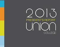 Union College 2013 President's Report