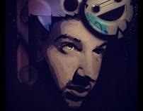 """Live Paint Bar """" Espaço da Cerca"""""""