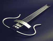 The Extruder - Bass Guitar Concept