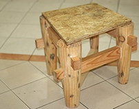 Pine Wood Chair
