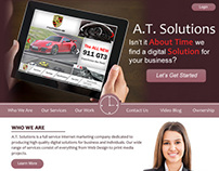 A.T. Solutions Website