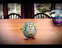 Easter Egg Wind-Up Toy