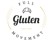 Branding // The full gluten movement