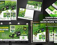 Garden Landscape Advertising Bundle