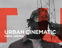 Urban Cinematic Media Opener