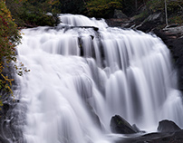 Portraits of Bald River Falls