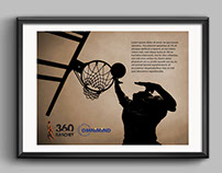 360 Basketball - competition identity