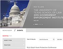 Legal Industry Website