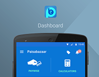 Paisabazaar Mobile UI UX