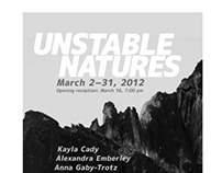 Unstable Natures Symposium