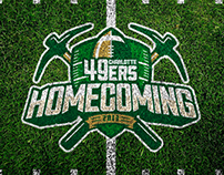 UNCC Inaugural Football Homecoming 2013