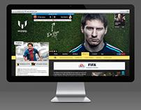 leomessi.com - Web Design