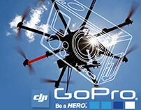 Nuevos lanzamientos GoPro Hero 3+ /Phantom vision