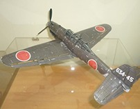 Paper Model of D4Y Suisei Yokosuka 'Judy'