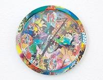 Art clock | Commission work