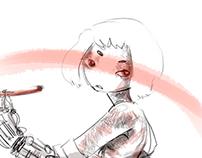 robott girl