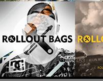 Rollout Bags logo design