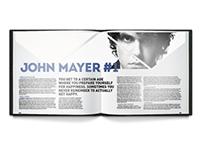 John Mayer – Three Page Spread