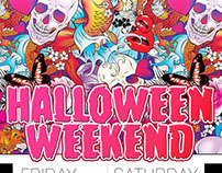 Halloween Weekend, Posters
