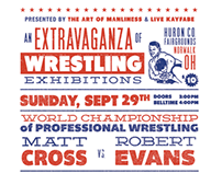 Professional Wrestling Extravaganza Poster