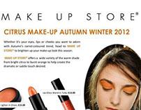Make Up Store Orange AW Press Release