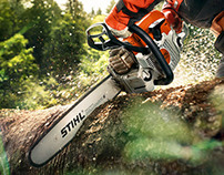 STIHL MS 362 CAMPAIGN FOR SCHOLZ & FRIENDS