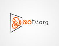 Logo and Web design for MataraTV official website