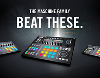 NEW MASCHINE FAMILY by Native Instruments