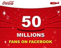 Coca-Cola Facebook Fan Page Design