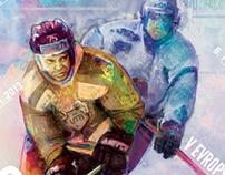 TBU Hockey Team posters