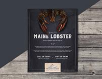 Maine Coast Lobster Ad
