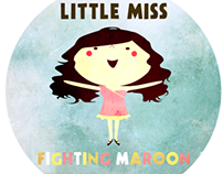 Little Miss Fighting Maroon - Prom Edition