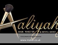 Logo for Aaliyahz Mehndi & Make Up Services