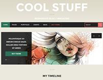 CoolStuff – Blog/Magazine WordPress Theme
