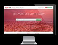 Nepzon.com Landing Page