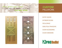 ProBuild Custom Millwork Catalog