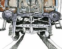 Wagon Illustration
