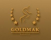 Goldmak's New Logo & Design