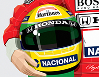 Ayrton Senna's Portrait