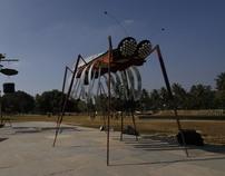 'Isai poochi' a sound installation