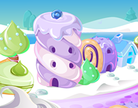 Candypot Background