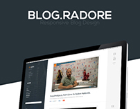Radore Blog Project