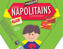 Van Houten Napolitain Packaging